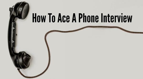 6 Tips For A Successful Phone Interview