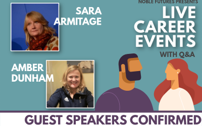 Sara Armitage and Amber Dunham confirmed as guest speakers!