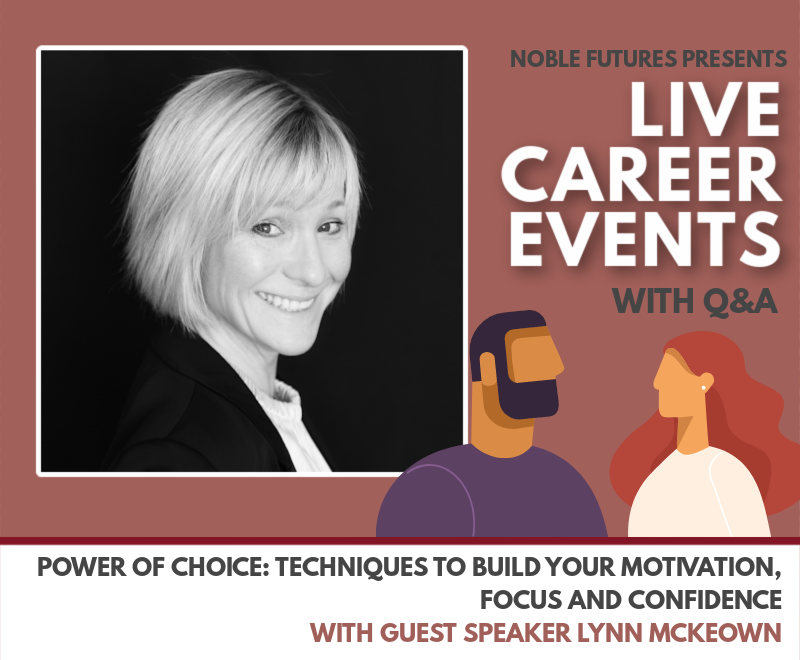 Live Career Q&A – With Guest Speaker Lynn McKeown