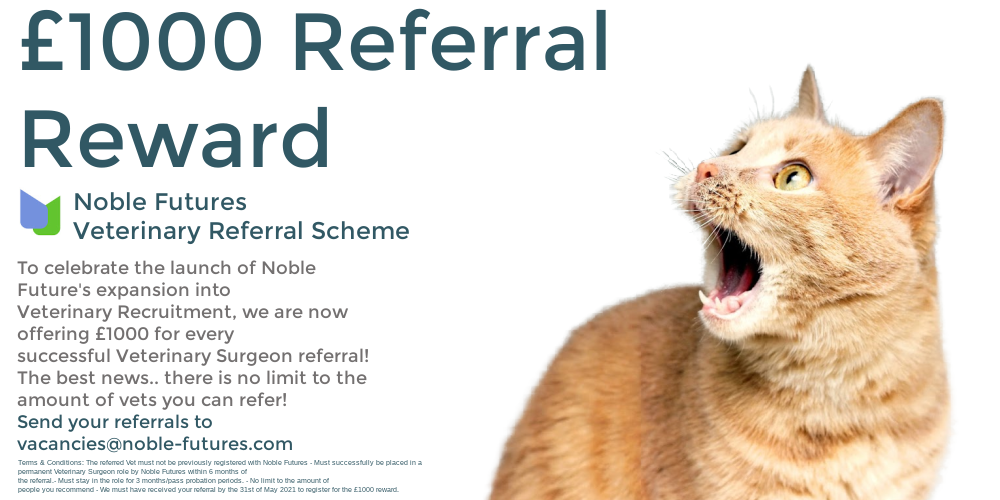 £1000 Referral Reward with Noble Futures