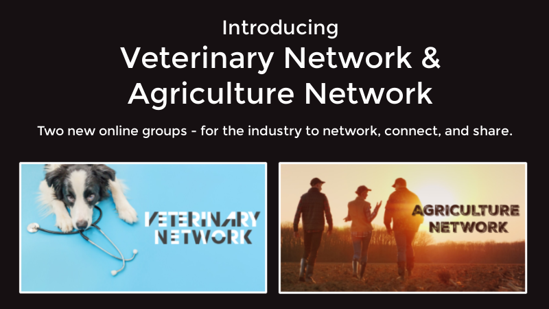 Introducing the Veterinary Network & Agriculture Network