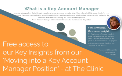 Key learnings from Live Q&A: Moving into a Key Account Manager Position