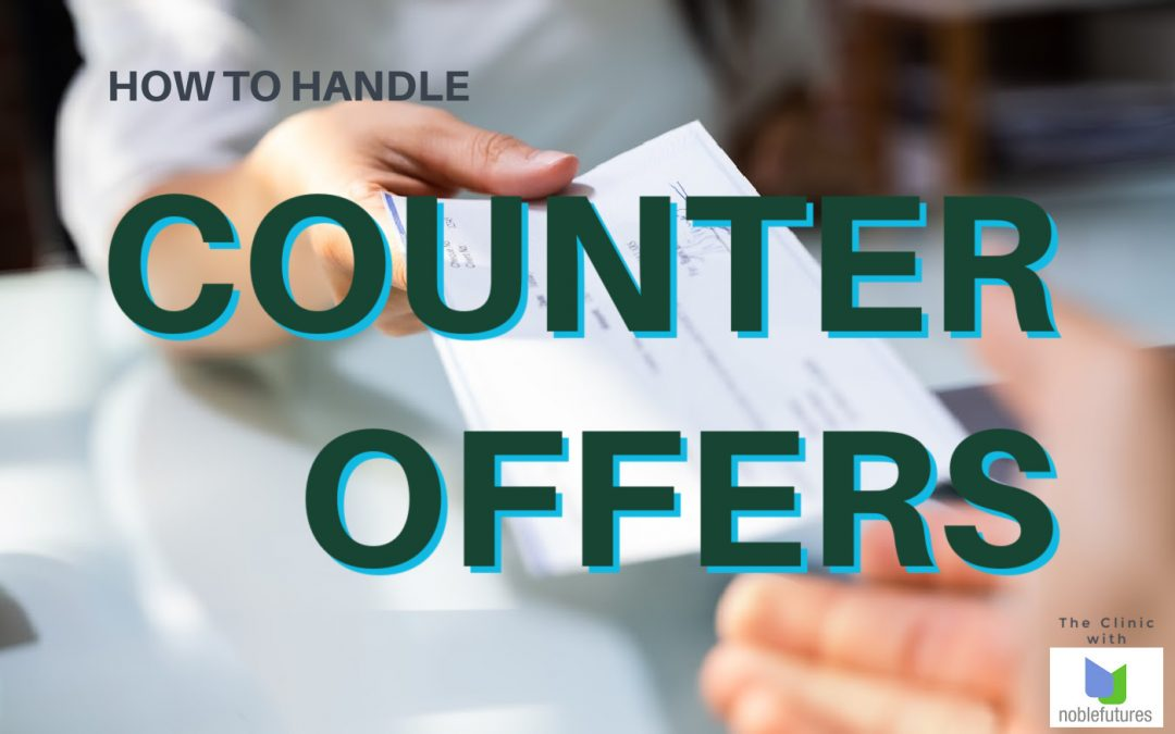 How to Manage Counter Offers